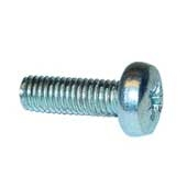 Regin REGQ04 M5 X 16 Steel Pozi Pan Screws 20