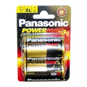 Regin REGED2 Panasonic Alkaline Batteries 2 X D LR20 1.5V