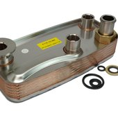 Worcester 87161429000 Heat Exchanger, DHW