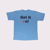 T-Shirt XL KTHO 'Get It On' Logo